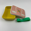 FDA Biodegradable Bamboo Fiber Lunch Box For Kids