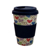 Fashion Reusable Coffee Cup Biodegradable Bamboo Fiber Water Bottle Cups