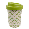 Custom Biodegradable Reusable Eco Bamboo Fiber Keep Coffee Cup Mug Wholesale