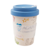 Organic Bamboo Fiber Mug With Decal Paper Customized Printing Bamboo Cups