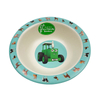 Biodegradable 5pcs bamboo fiber Kids Dinnerware Sets with LFGB Approved