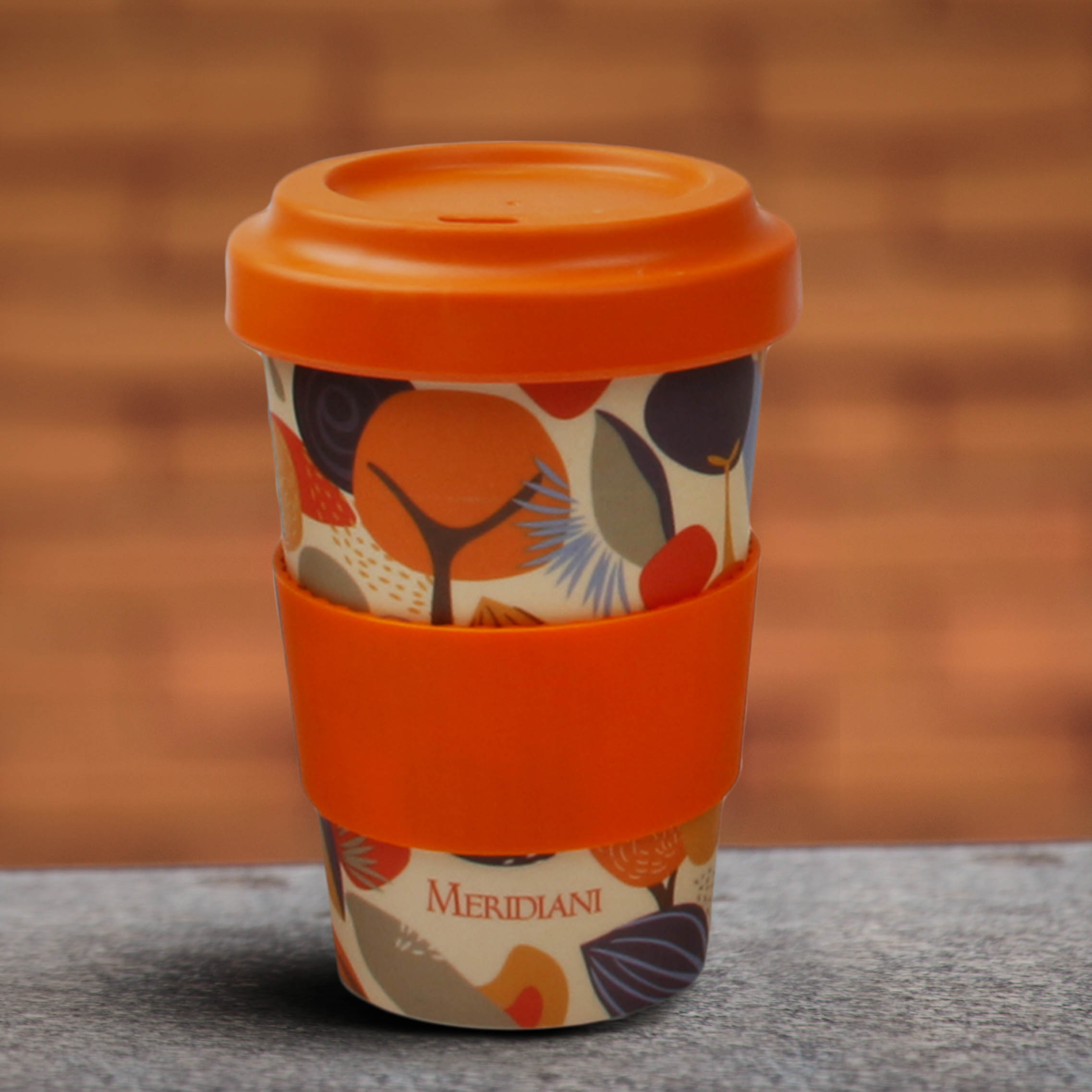 Promotional 260ML/350ML/450ML Natural Biodegradable Bamboo Fiber Cup/ Bamboo Coffee Mug