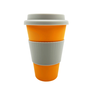 Bamboo Fiber Promotional Coffee Cup Wholesale Food Safe Tea Cups