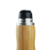 Bamboo shell coffee mug ceramic tumbler tea cups water bottle with lid