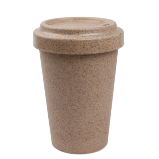 Natural Bamboo Fiber New Design Biodegradable And Reusable Coffee Tea Mugs